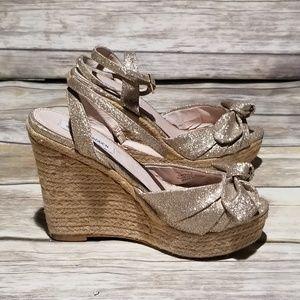 7708f7edc4b1 Steve Madden Glisten Sandal size 7.5